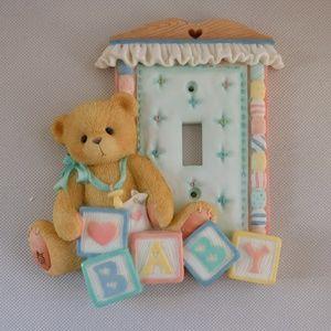 Cherished Teddies Baby Nursery Lightswitch Cover